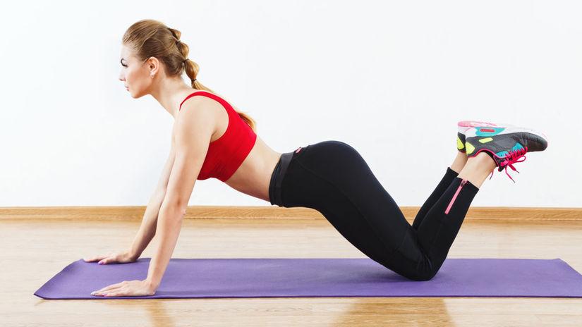 Cvičenie - Kľuky