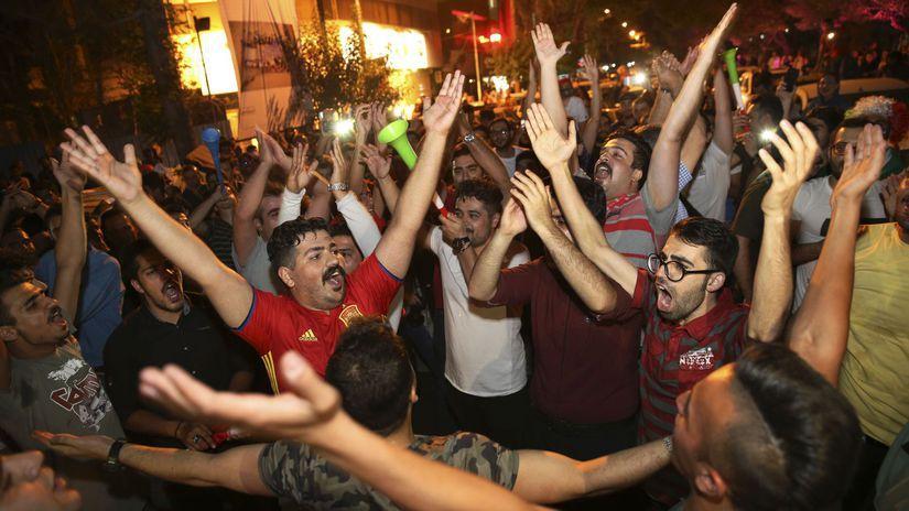 Irán, oslavy, Teherán
