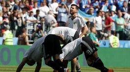 Lionel Messi, Argentína, Island