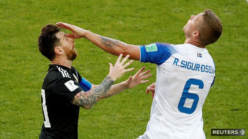 Lionel Messi, Ragnar Sigurdsson