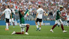 Mexiko, radosť, futbal