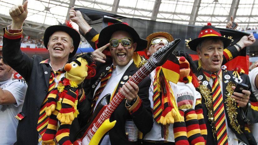 Nemecko, fanúšikovia