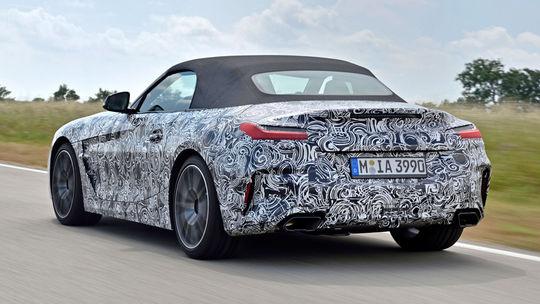 BMW Z4: Nový roadster už krúži na okruhu v Miramas