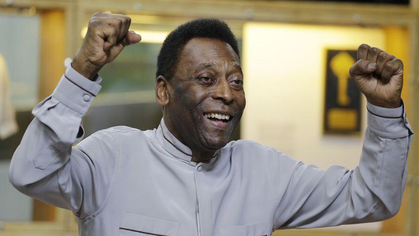 Brazília Futbal Pelé nemocnica stav zlepšenie