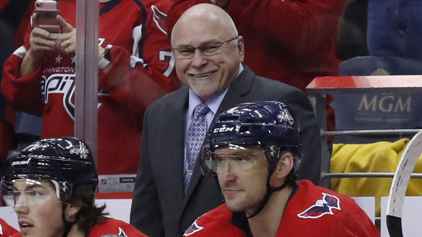 Capitals Trotz Hockey nhl