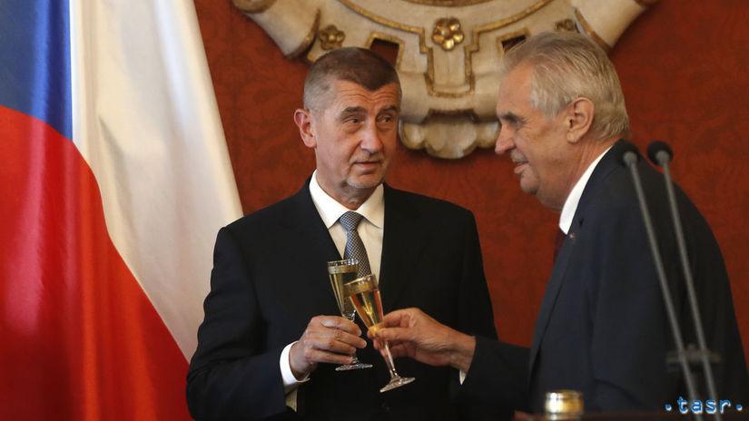 ČR, Zeman, Babiš, premiér, vymenovanie