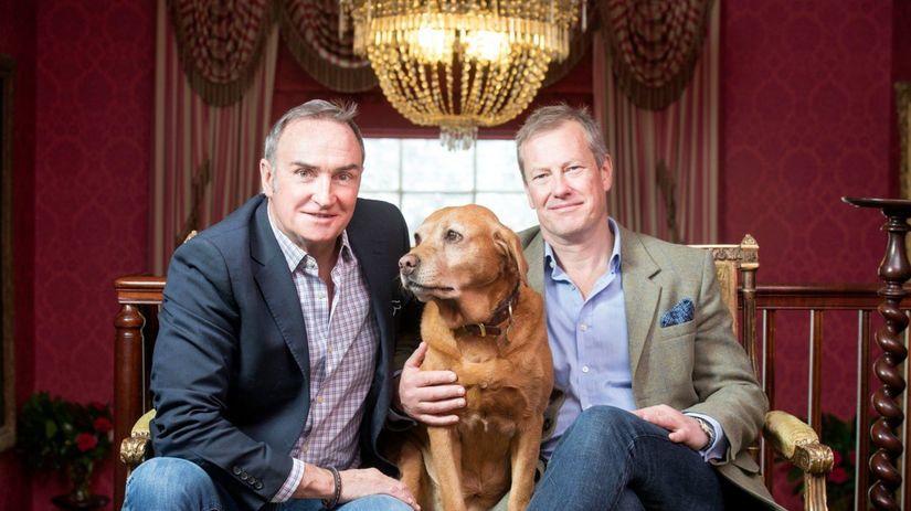 Ivar Mountbatten (vpravo) a jeho James Coyle