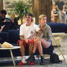 """Justin Bieber a jeho """"staronová"""" priateľka - modelka Hailey Baldwin"""