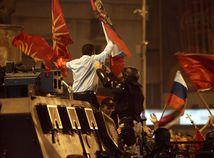 Macedónsko, dohoda, Grécko, protest, násilie, polícia