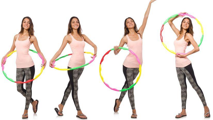 obruč hula-hup