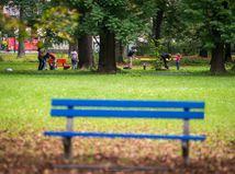 park, banská