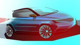 Škoda Fabia IV - skica