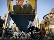 KĽDR Čína Kim
