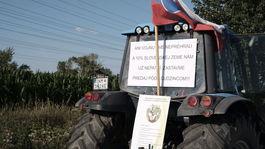 Protestujúci farmári mieria do Bratislavy.
