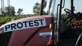 Protestujúci farmári, senec