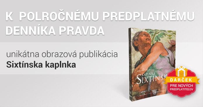Polročné predplatné s knihou Sixtínska kaplnka