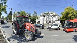 farmári protestná jazda Bratislava