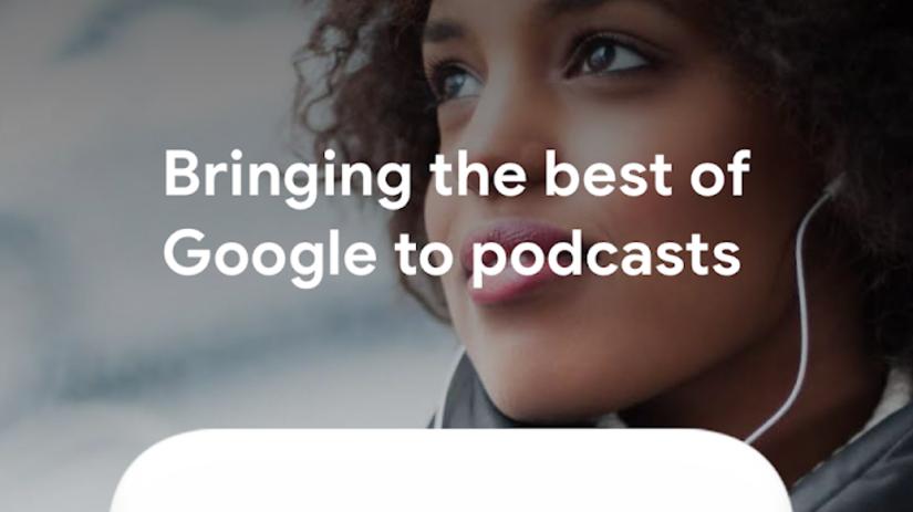 Google Podcasts, podcasty
