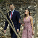 Kráľ Felipe VI. a jeho manželka - kráľovná Letizia počas návštevy San Antonia.