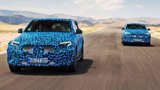 Mercedes-Benz EQC: SUV na 'baterky' sa predvádza v Španielsku. V maskáčoch