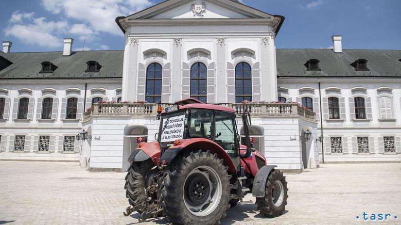 SR Farmári Prezident Kiska Prijatie BAX