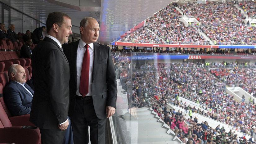 Vladimir Putin, Dmitrij Medvedev, Alexander...