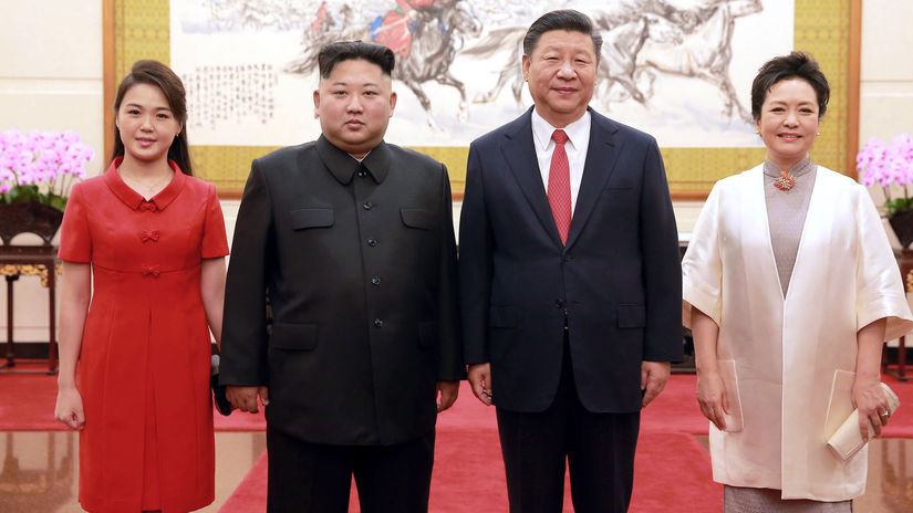 Kim Čong-un, Si Ťin-pching