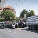Farmári pokračujú v proteste, stretnutie s Dankom bolo 'bezpredmetné'