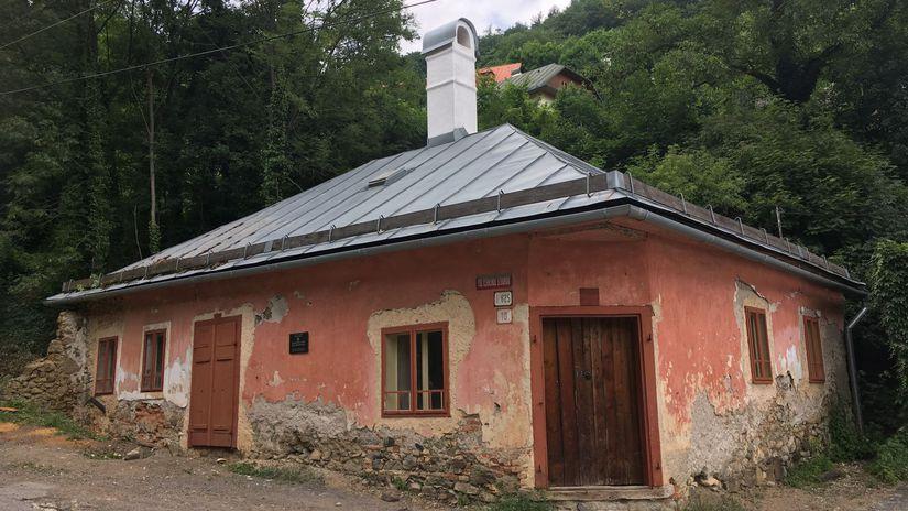 Rodný dom Deža Hoffmanna v Banskej Štiavnici...