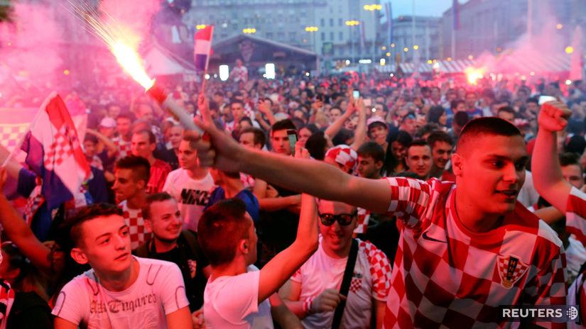 Chorvátsko, Záhreb, fanúšikovia