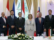 Maďarsko V4 SR Rakúsko Andrej Danko