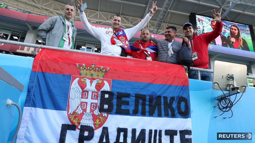 Srbsko, fanúšikovia
