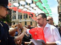 Taliansko Salvini Janov návšteva