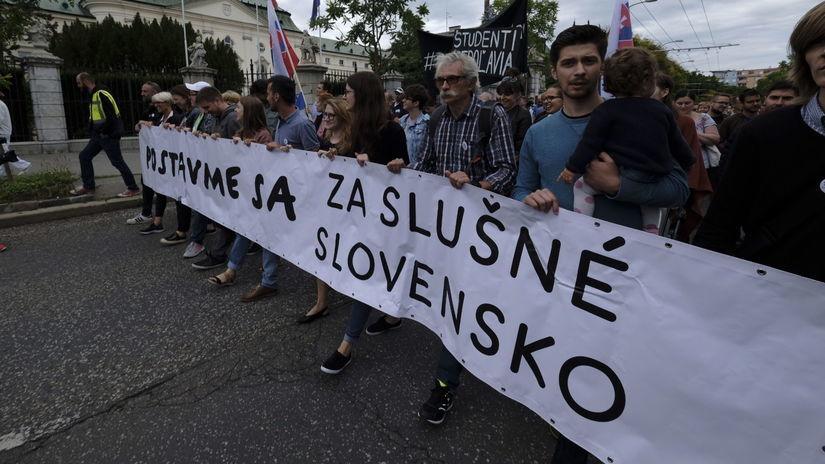 Za slušné Slovensko