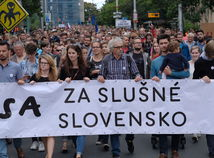 Iniciatíva Za slušné Slovensko zvoláva ďalšie pochody