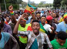 Etiópia, zhromaždenie, premiér, Abiy Ahmed, Meskel Square