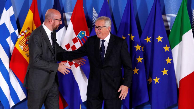 minisummit, EÚ, migrácia. Charles Michael,...