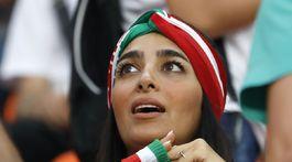 Fanúšička, Irán