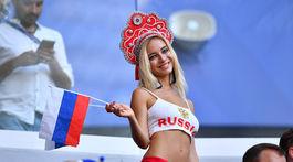 Fanúšička, Rusko