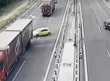 nehoda, Bratislava, most Lafranconi