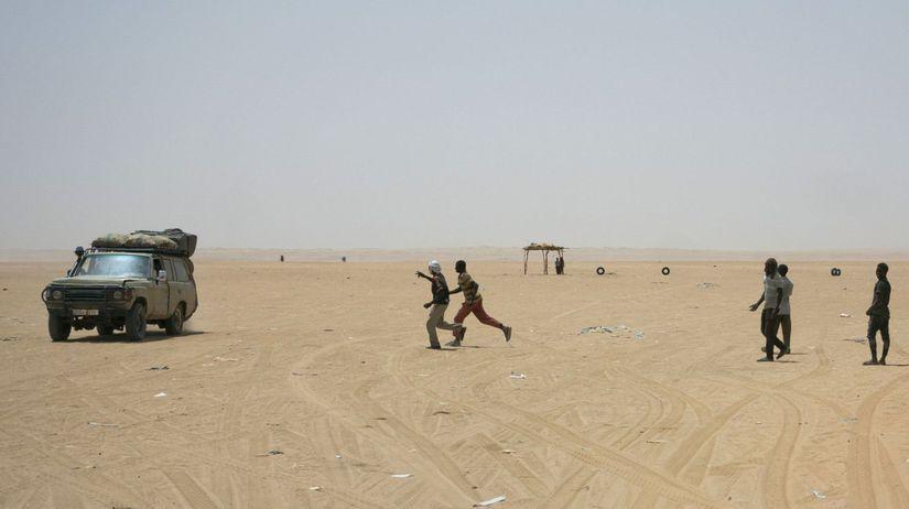 Sahara, Alžírsko, migranti