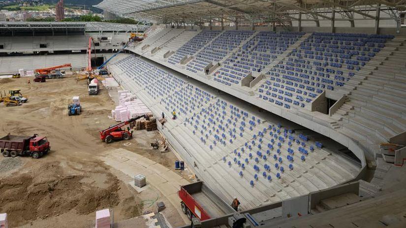Tehelné pole, Národný futbalový štadión