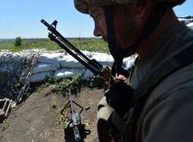 Ukrajina, vojak, Donbas