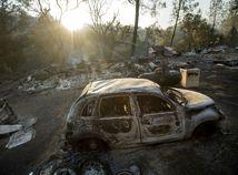 USA Kalifornia požiare