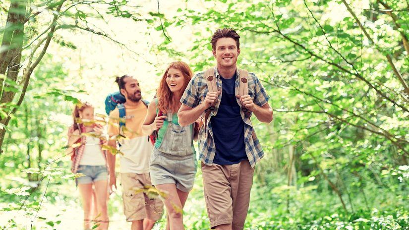 leto, príroda, turistika, kliešte
