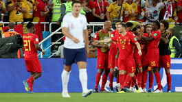 Anglicko, Belgicko, gól
