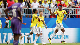 Kolumbia, gól