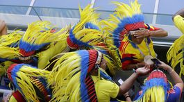 Kolumbia, Senegal, fanúšikovia