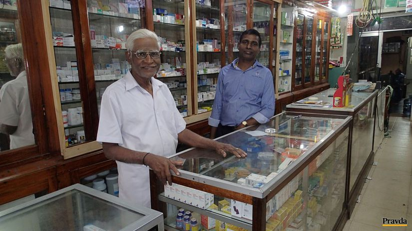 lekáreň, Srí Lanka, Jaffna