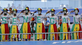 Senegal, Kolumbia, fanúšikovia